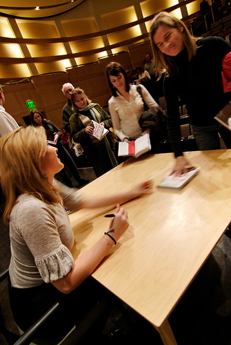 Jenna Bush in Salt Lake City