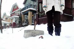 Day 337 - Epic Fail (kisluvkis) Tags: winter snow broken lol shovel fail 300s 365days epicfail