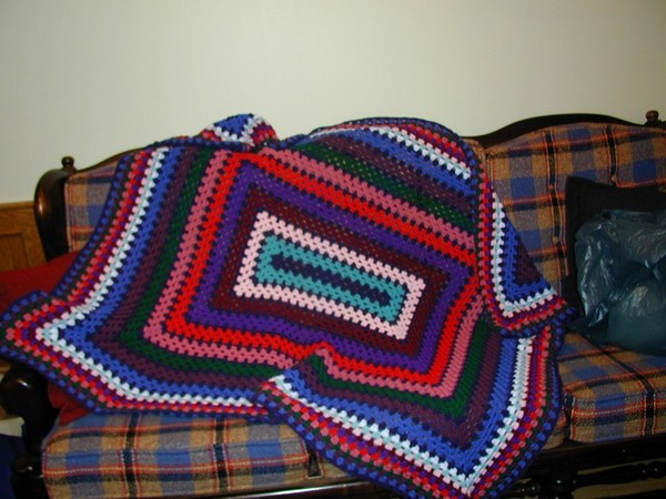Ravelry Rectangular Granny Square Afghan Pattern By Erin Lindsey