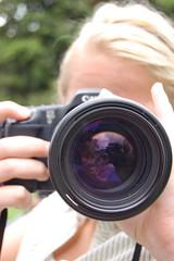 Marit fotograferer