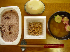 Not your average Japanese breakfast (Shanti, shanti) Tags: japan miso japanesefood natto explored