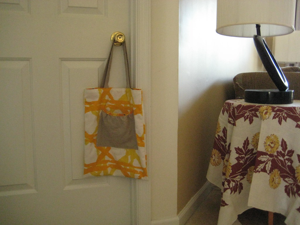 Tote & new tablecloth