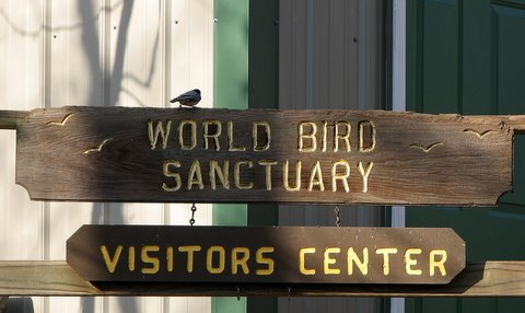 world bird sanctuary fenton mo sign