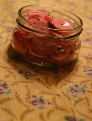 jar of pink