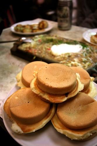 snack -imagawayaki and monjayaki-