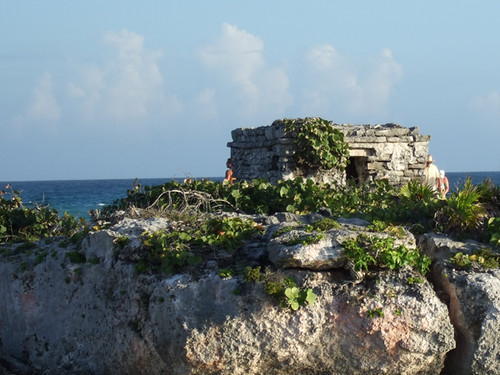 Mayan sentry post