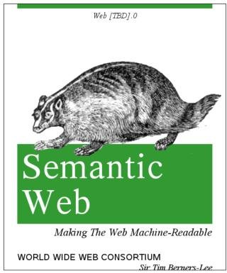 "[Fake O'Reilly cover: ""Semantic Web: Making The Web Machine-Readable"""