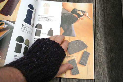 Japanese Fingerless Gloves