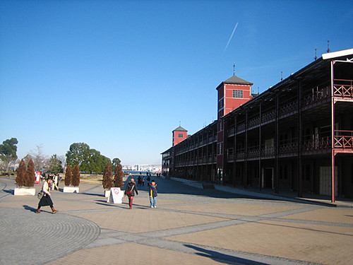 yokohama akarenga (red brick warehouse)