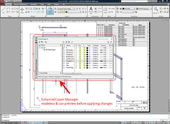 AutoCAD 2009 Enhanced Layer Modeless Dialog