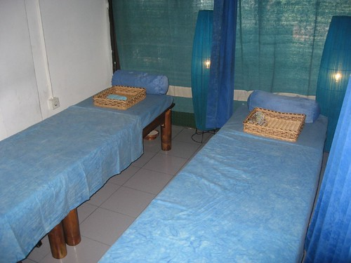 Balinese massage tables