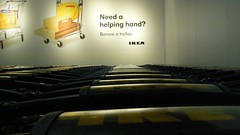 20080214 IKEA: trolleys 03 (halfbyteproductions) Tags: new ikea store perth wa trolleys markethall innaloo 1stfloor 20080214