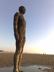 Antony Gormley @ Crosby Beach (Grateful Ghoul) Tags: art liverpool installation gormley antonygormley anotherplace crosbybeach gormleystatues