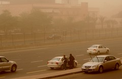 Duststorm : 5th ring road