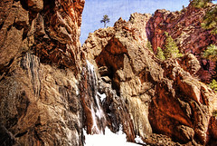 Dorothy Falls - Queens Canyon (iceman9294) Tags: coloradosprings soe chriscoleman gleneyrie mywinners iceman9294 queenscanyon dorothyfalls