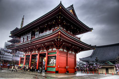 Gates (nrtphotos) Tags: japan contrast asian temple sensoji tokyo pagoda high shrine asia dynamic adobe lantern asa ward asakusa orient shinto 2008 range shintoshrine hdr highdynamicrange tokyojapan lightroom taito adobelightroom budhhist taitoward