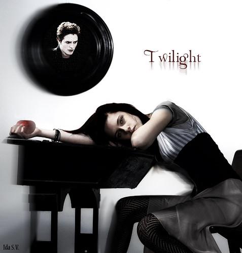 Twilight Poster by Ida Sofie//.