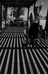 Beach stripes (FunKa-Lerele) Tags: bw blancoynegro rayas valencia stripes bn ganda diamondclassphotographer top30bw bn052008