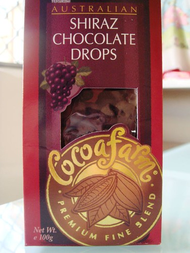 Shiraz Chocolate Drops