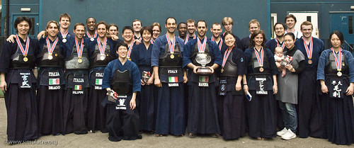London Cup Kendo Tournament 2008 Medalists