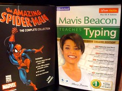 Spiderman vs Mavis Beacon