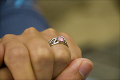 Will you take my hand? (Mamagasu) Tags: engagement ring diamond manufactured