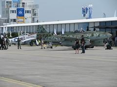 Me 262 und P-51