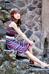 (swanky) Tags: portrait people woman cute girl beauty canon asian eos model asia pretty taiwan babe taipei   tamron 2008  taiwanese tamsui 30d  dcview a16  mikako  1750mm tamronspaf1750mmf28xrdiiildasphericalifmodela16  mikako1984