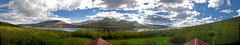 180 panorama from the rooftop of the summerhouse. (Sig Holm) Tags: island iceland islandia sland islande icelandic geomorphology islanda skarsheii islndia skorradalur borgarfjrur ijsland islanti slenskur  slendingar    slenskt