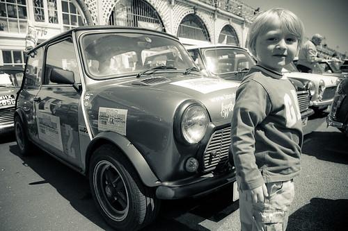 A mini kid