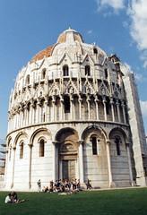 1998.09.030 PISE - Le Baptistre (XII- XV)  .jpg (alainmichot93) Tags: pisa 1998 toscane italie pise