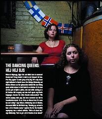 Hej Hej Featured in October Issue of DC Magazine (MelissaInWheaton) Tags: music washingtondc melissa nordic djs scandinavian cafesaintex natalya hejhej dcmagazine