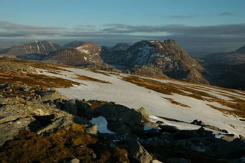 View From Beinn A' Chaisgein Mor