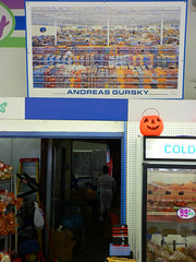 I got yelled at for taking a picture of a picture of the 99 cent store that was on display in the 99 cent store (dogwelder) Tags: california october zurbulon6 2007 northhollywood lankershim zurbulon 99centsonlystore gatturphy