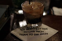 Live rich, die beautiful