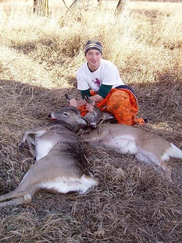 Success. Two fewer deer in North Dakota