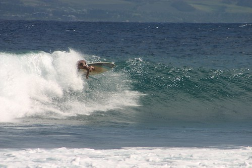 Molokai: East Shore Surfer