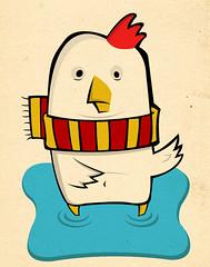 rodolfo quiere volar (medialunadegrasa) Tags: cuento rodolfo ilustracion chicos juancarlos gallina