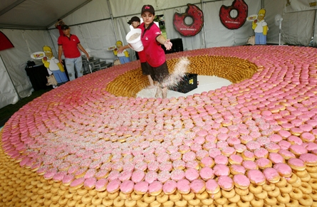World's Largest Doughnut