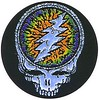 Grateful Dead Steal Your Face - dye kinda drippy one