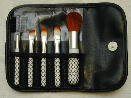 6 piece natural brush set