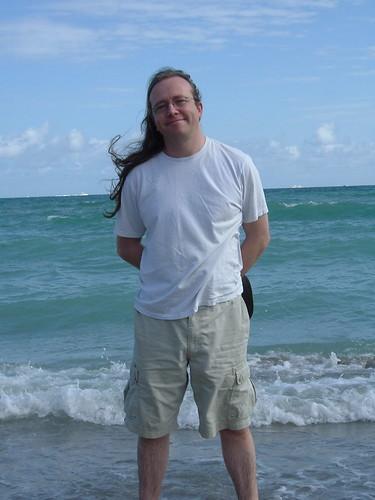 Patrick on Hollywood Beach, FL
