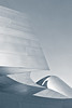 Sanguine (aqui-ali) Tags: california ca bw usa metal architecture train losangeles exterior gap fv5 curvy frankgehry disneyconcerthall gehryx aquiali:a=1