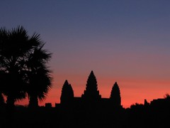 Sunset, Angkor Wat