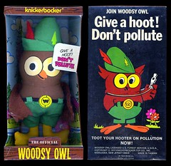 Knickerbocker Woodsy Owl Doll (Neato Coolville) Tags: 1970s knickerbocker woodsyowl dontpollute
