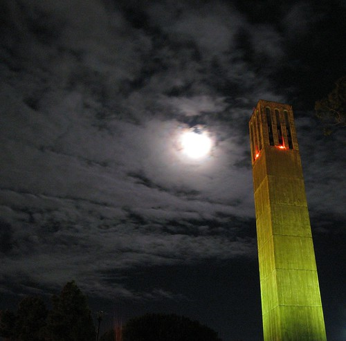 Moonrise Over UCSB