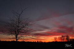 Winter Sunset Troutdale