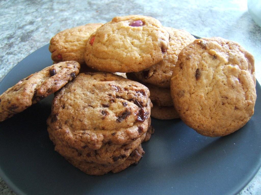 recette cookies la cuisine de martine