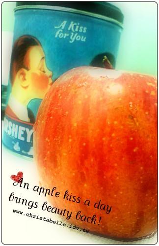 一天一蘋果,美麗來找我