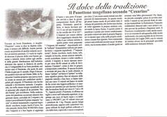 Articolo sul Panettone (Il galletto) 2007
